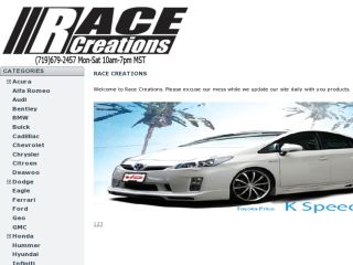 Shop at racecreations.com
