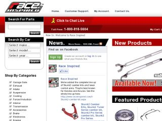 Shop at raceinspired.com