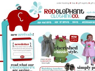 Shop at redelephantclothing.com