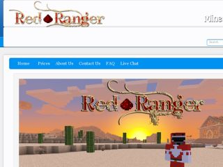 Shop at redrangerhosting.com
