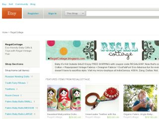 Shop at regalcottage.etsy.com