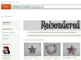 Shop at rewondered.etsy.com