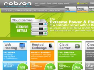 Shop at robsonhosting.com