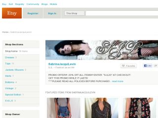 Shop at sabrinajacquilevin.etsy.com