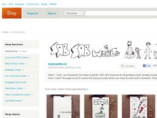 Shop at sabsabworld.etsy.com