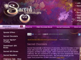 Shop at sacredchocolate.com