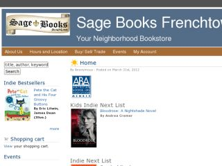 Shop at sagebooksfrenchtown.com