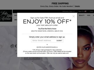 Shop at saksfifthavenue.com