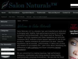 Shop at salonnaturalsonline.com
