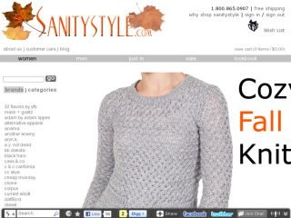 Shop at sanitystyle.com