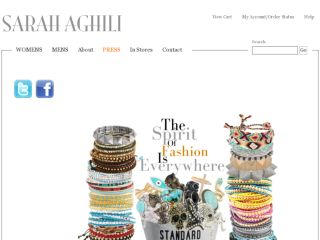 Shop at sarahaghili.com