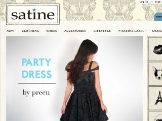 Shop at satineboutique.com