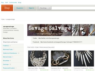 Shop at savagesalvage.etsy.com