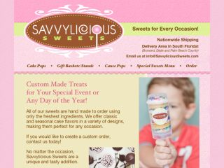 Shop at savvycakepops.com