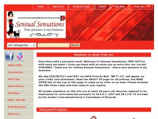 Shop at sensual-sensations.biz