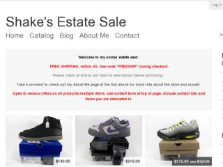 Shop at shakes-estate.com