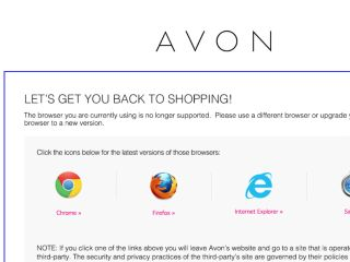 Shop at shop.avon.com