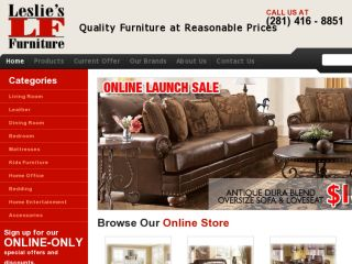 Shop at shoplesliesfurniture.com