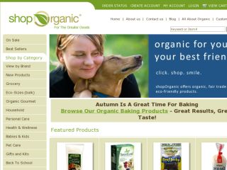 Shop at shoporganic.com