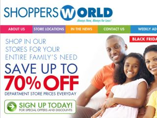 Shop at shoppersworldusa.com