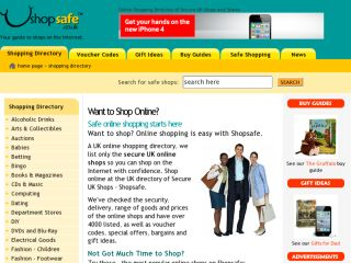 Shop at shopsafe.co.uk