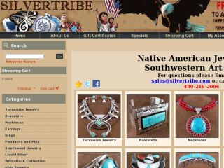 Shop at silvertribe.com