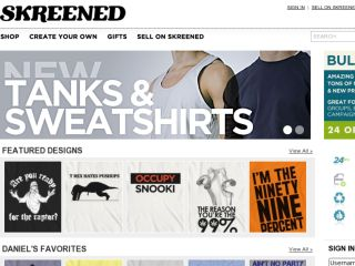 Shop at skreened.com