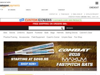 Shop at softball.com