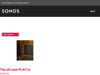 Shop at sonos.com