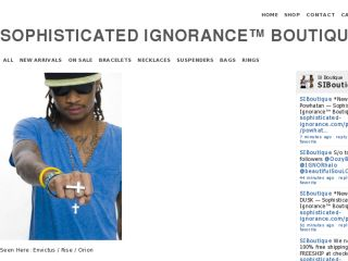 Shop at sophisticated-ignorance.com