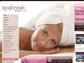 Shop at spabreak.com