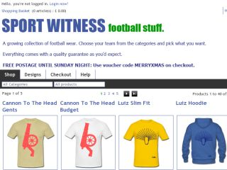 Shop at sportwitness.spreadshirt.co.uk