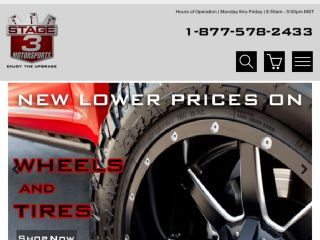 Shop at stage3motorsports.com