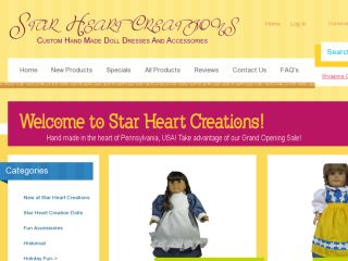 Shop at starheartcreations.com