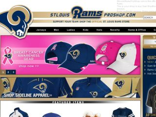 Shop at stlouisramsproshop.com