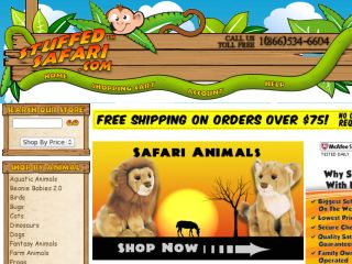 Shop at stuffedsafari.com