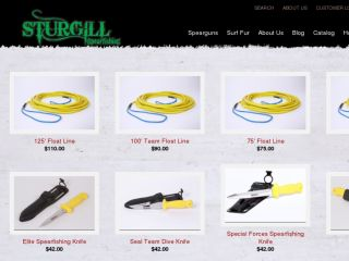 Shop at sturgillspearfishing.com