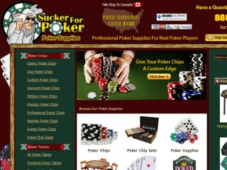 Shop at suckerforpoker.com