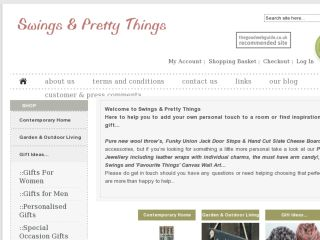 Shop at swingsandprettythings.co.uk
