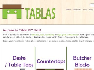 Shop at tablasdiyshop.com