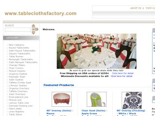 Shop at tableclothsfactory.com