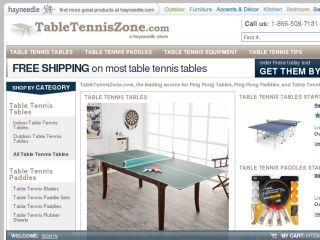 Shop at tabletenniszone.com