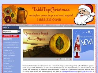 Shop at tabletopchristmas.com