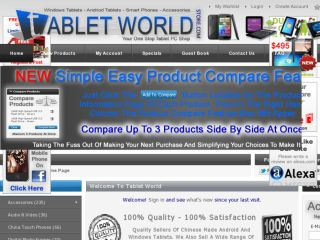 Shop at tabletworldstore.com