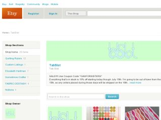 Shop at tabslot.etsy.com