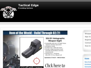 Shop at tac-edge.com