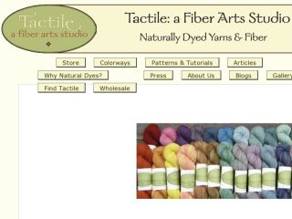 Shop at tactilefiberarts.com