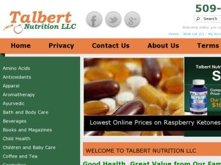 Shop at talbertnutrition.com