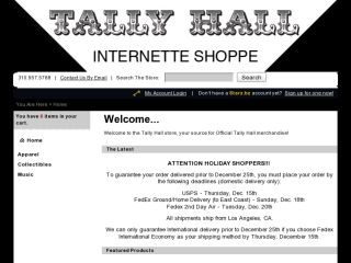 Shop at tallyhallstore.com