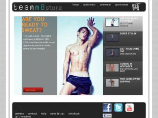 Shop at teamm8.com